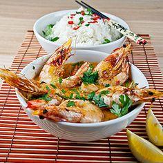 Thai Red Prawn Curry with Jasmine Rice