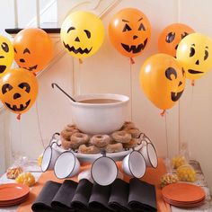 Pumpkin Balloons How-To