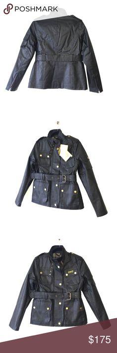 NWT BARBOUR INTERNATIONAL HEYFORD WAX JACKET NWT BARBOUR INTERNATIONAL HEYFORD WAX JACKET Barbour Jackets & Coats Utility Jackets