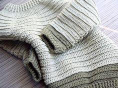 Sofus trøjen - Hæklet trøje til de små - Eponas dagbog Crochet Jumper, Baby Jumper, Crochet Baby Clothes, Drops Design, Crochet For Kids, Baby Kids, Men Sweater, Knitting, Sweaters
