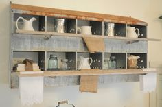 Using Industrial Items as Unique Decor - eclectic - dining room - other metros - Buckets of Burlap