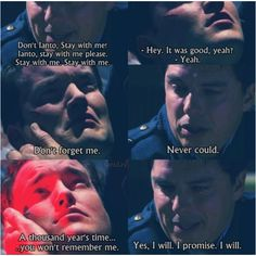 Ianto and Jack. I love them. Torchwood children of earth 3....