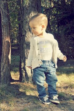 cute little baby style, baby outfit for the beginning of autumn