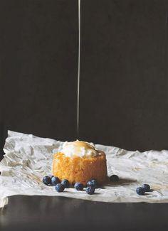 Buttermilk Cakes with Honey Caramel |The Pancake Princess