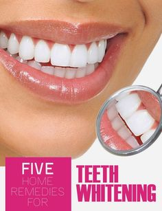 Five Home Remedies for Teeth Whitening | Pin Remedies