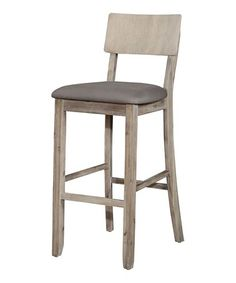 This Gray Jordan Stool is perfect! #zulilyfinds