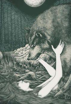 flidais:  Red Moon em We Heart It.