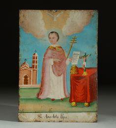 Exvoto a San Anacleto Papa