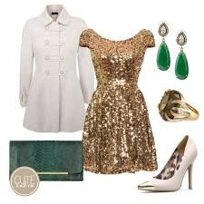 Image result for metallic gold dress outfits