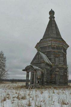 an old Russian church