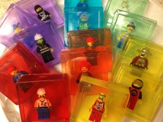Easter Basket Fun: Three Lego Man Soaps as party favors? Can I make hmmm?