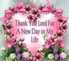 Thank You Lord Jesus!!