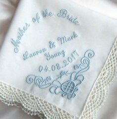 For the Mother of the Bride in the UK, beautiful wedding keepsake!