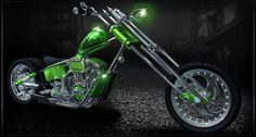 Go Green Unique HD Bike Wallpapers