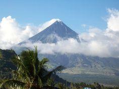 Mayon Volcano - Legaspi, Philippines (1 hour flight from Manila)
