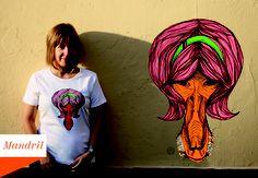 Marivi Trombeta: Camisetas Animal Hair - en venta online!!
