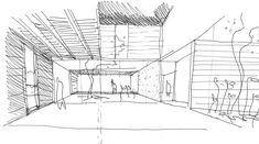 PRO.CRE.AR. PERROUD | AToT Arquitectos House Property, My House, Casa Top, Warehouse Design, Concrete Houses, Bali, House Layouts, My Dream Home, Floor Plans