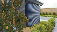 Water autonomy is becoming increasingly common. And capturing and utilizing rainwater for distribution throughout your home is made possible by cisterns, or large holding tanks. We take a look at these systems integral to rainwater harvesting. Horticulture, Slimline Water Tanks, Steel Water Tanks, Water From Air, Rainwater Harvesting System, Water Scarcity, Water Collection, Water Management, Victoria