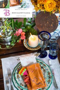 Vajillas de prestigio en www.bougainvilleabodas.com.mx Bodas San Miguel