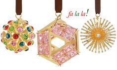 Deck the Halls: Kate Spade Ornaments