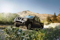 2016 Nissan Frontier front three quarter