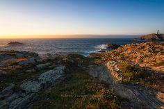 Atardecer en Punta Frouxeira (I) (Meiras - Galicia)  Visita Marcos Vazquez Fotografia en Facebook.  © 2013 Marcos Vázquez  Todos los derechos reservados  #paisaje #landspace #fotografía #photography #Meiras #marcosvazquezfotografia #Galicia #España #Spain #Sunset #Atardecer #Sea #Mar