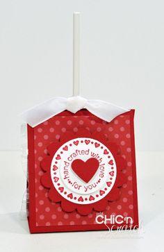 Red Valentine pop