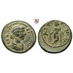 Römische Provinzialprägungen, Lydien, Saitta, Crispina, Frau des Commodus, Bronze, ss-vz: Lydien, Saitta. Bronze. Drapierte Büste r.… #coins