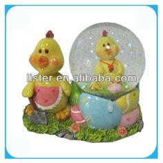 Easter_chicken_snow_globe_ornament.jpg (600×600)
