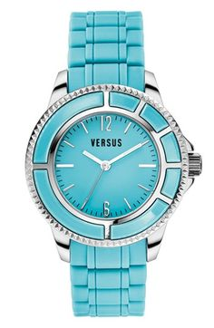 VERSUS by Versace 'Tokyo' Rubber Strap Watch, 38mm available at #Nordstrom