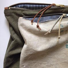 Den & Delve handmade pouches and accessories