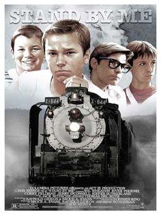 Posters Alternativos e Música Tema em Homenagem aos 30 Anos do Filme Conta Comigo.