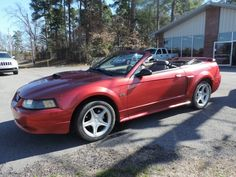 2001 Ford Mustang GT v8 convertible   at Landersautosales.com  just in
