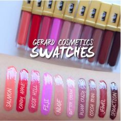 Maryam Maquillage: Review & Swatches: Gerard Cosmetics Lip ...