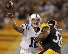 """""""Andrew Luck's Case for NFL Rookie of the Year"""" International Business Times (January 6, 2013)"""