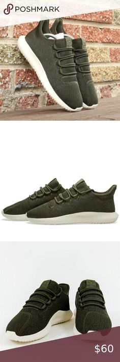 Adidas Tubular Shadow Suede 'Camo' (militaire) Olive Cargo