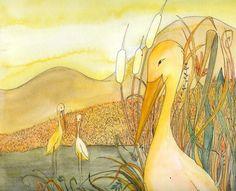 """in  """"Danilo e il Nilo"""", Luisa Capparotto,Arte e Crescita Ed., 2010. Illustrations, Kids, Painting, Animals, Art, Young Children, Boys, Animales, Animaux"""