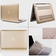 Matte Gold Case✨ For Macbook Air & Pro  Available online now at…