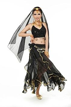 279588e5e7 Belly Dance Costumes, Dance Dresses, Spin, Wonder Woman, Dance Outfits.  Beth Kravec · Dance dresses · Beverly Women's Polka Dot Belly Dance Costume  Set ...