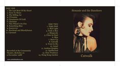 Siouxsie And The Banshees - 1988 - Catwalk (Live from Berkeley CA) - gatefold