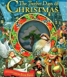 The Twelve Days of Christmas  With its turtle doves and golden rings, this festive folk-song-turned-book makes counting down to Christmas fun. ($12.23; amazon.com)