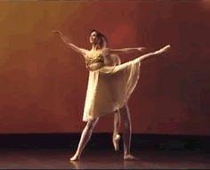 Lucia Lacarra and Marlon Dino (Bayerisches Staatsballett) in Roland Petit's 'Thais' pas de deux at Dance Open festival 2011.