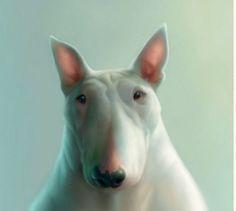 Dog Toby - a fun character illustration Briton Stephen Hanson - Fair Masters - handmade, handmade