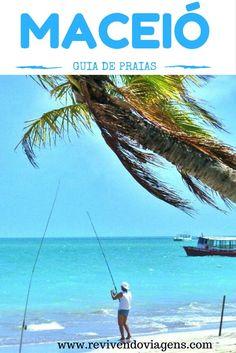 Guia de praias de Maceió, Alagoas.  Nordeste Brasileiro. Brasil