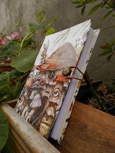 Cuadernos Artesanales, $85 en http://ofeliafeliz.com.ar