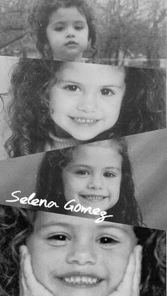 Selena Gomez as Kid Her Smile, Make Me Smile, Selena Gomez Wallpaper, Selena Gomez Pictures, Selena Gomez Kids, Marie Gomez, She Song, Wizards Of Waverly Place, Hollywood Celebrities
