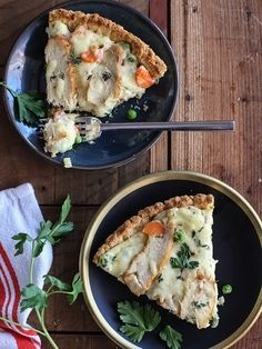 Chicken Pot Pie Pizza foodiecrush.com #pizza