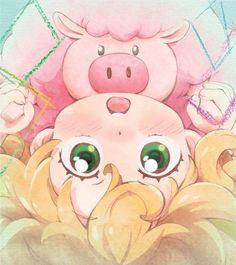 Amaama to Inazuma, Inuzuka Tsumugi Sweetness And Lightning, Anime Bebe, Chibi, Momo Yaoyorozu, Otaku, Manga Anime, Anime Art, Amaama To Inazuma, Slice Of Life Anime