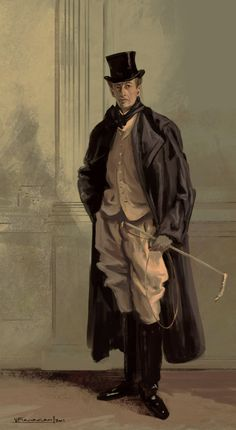"""""""Lord Ribblesdale"""", J.S. Sargent"""
