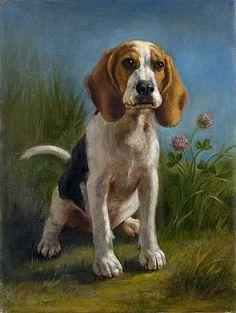 ,beagle art (beautifully done!)